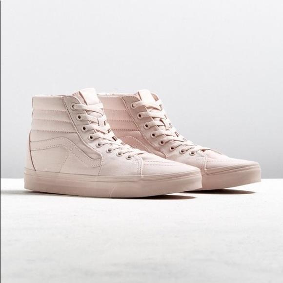 Vans Shoes | Rare Blush High Tops